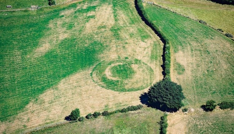 Record temperatures mean ancient forts become visible in fields | Innovation