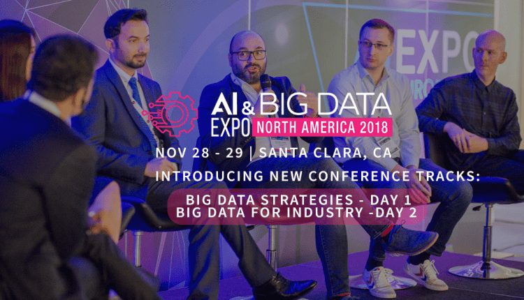 AI & Big Data Expo North America releases Two New Big Data Conference Tracks to complement AI Focus | Robotics