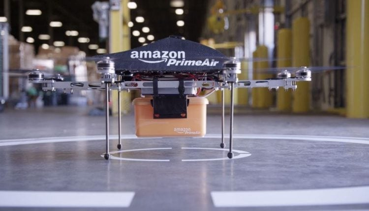 Amazon patent describes anti-hacking measures to protect its delivery drones   Tech Blog