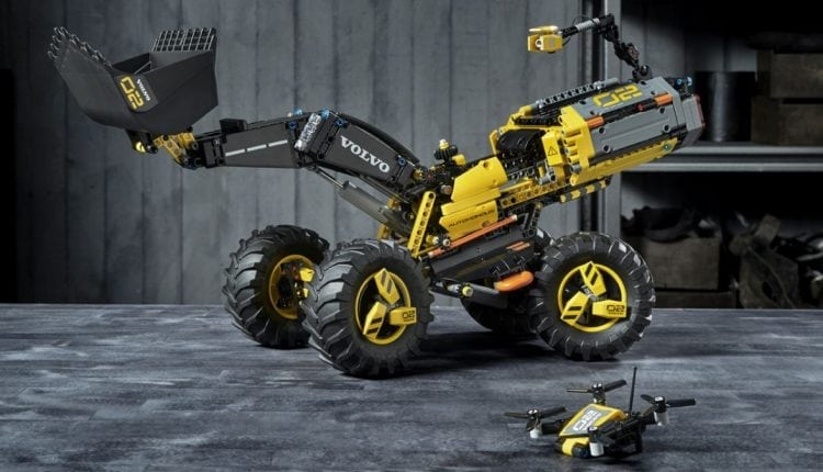 Building a real-life Wall-E: how kids helped Lego Technic and Volvo design the autonomous Zeux wheel loader | Tech Blog