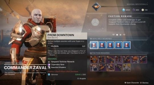 Destiny 2 Update Adds New Exotic Catalysts, Bounties, and More | Gaming
