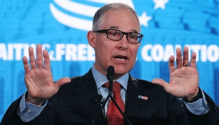 Former EPA chief and Trump-appointee Scott Pruitt is reportedly devastated over his ouster   Digital Asia