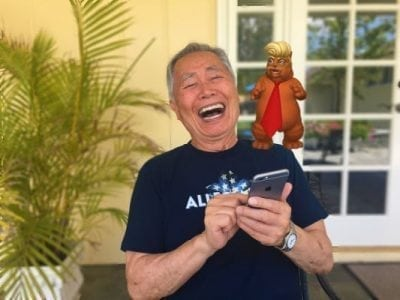 And now, here's a 'Trumpy Cat' augmented reality app from George Takei | Apps news