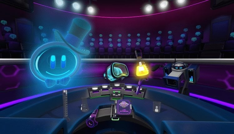 HoloLAB Champions teaches about chemistry with a VR game show | Gaming