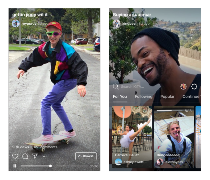 IGTV carousel funnels Instagram feed traffic to buried videos | Tech Apps 2
