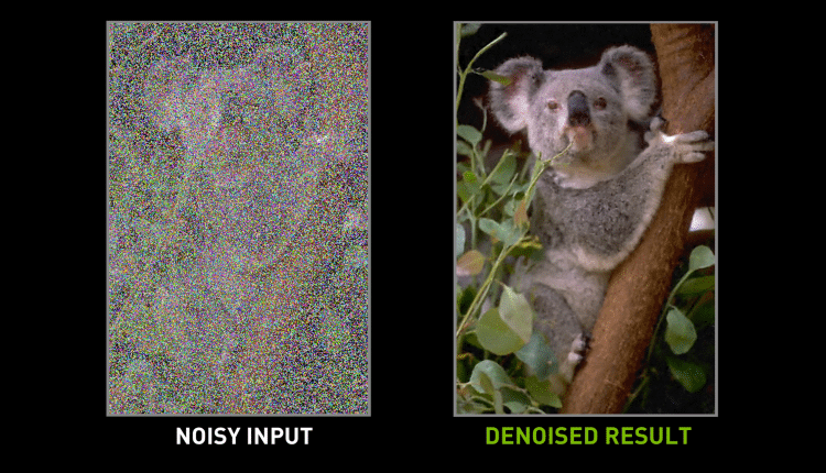 Nvidia uses AI to clean up messy photos | Tech Industry