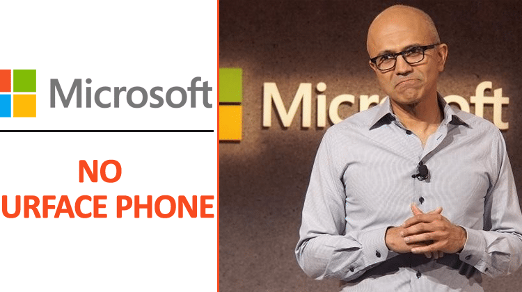Bad News: Microsoft Is Not Working On A Surface Phone | Viral Tech