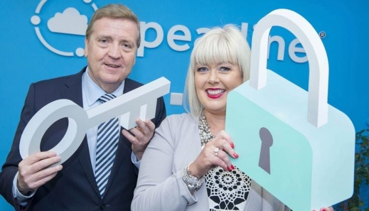 Minister for Data Protection Pat Breen TD visits Spearline Data Protection on the launch of their new GDPR software solution | Cyber Security
