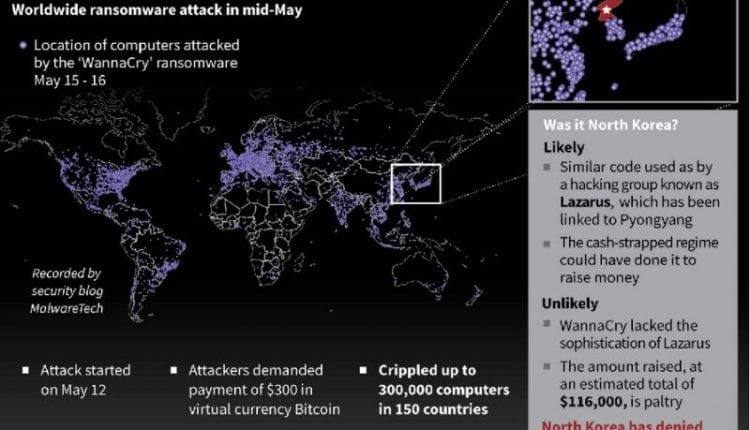N. Korea denies role in WannaCry ransomware attack | Cyber Crime