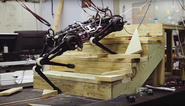 Robot Cheetah can mount ledges and climb stairs without looking | Innovation Tech