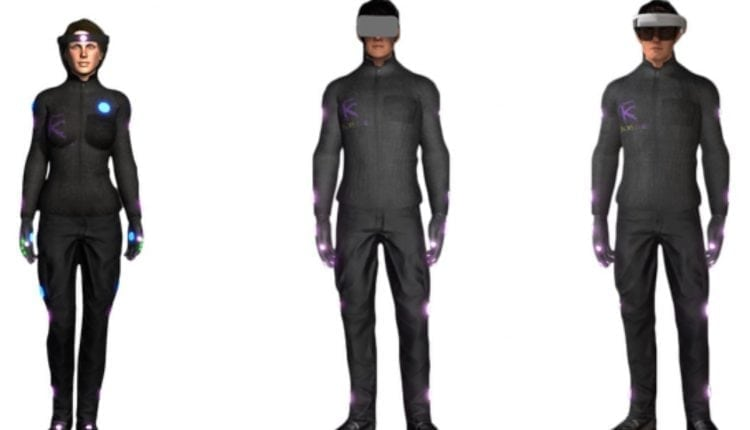 HoloSuit promises full-body VR tracking and haptics by November 2018 | Gaming