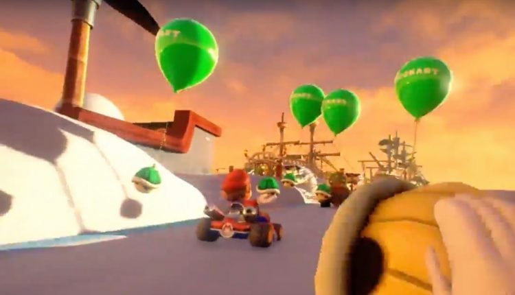 Will location-based VR games like Mario Kart VR be lost to history? | Gaming