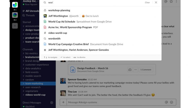Slack updates search with expanded view and intelligent filtering | Apps & Software