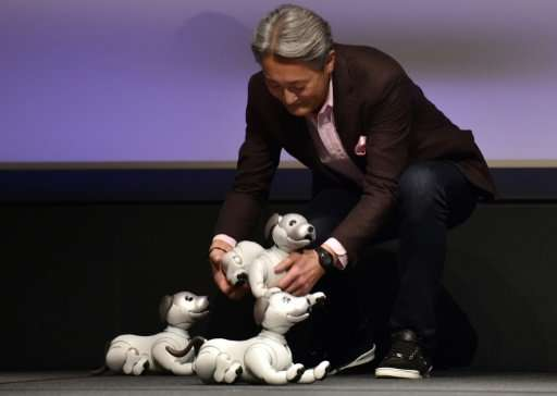 Sony had to put its previous version of the dog down when its business struggled