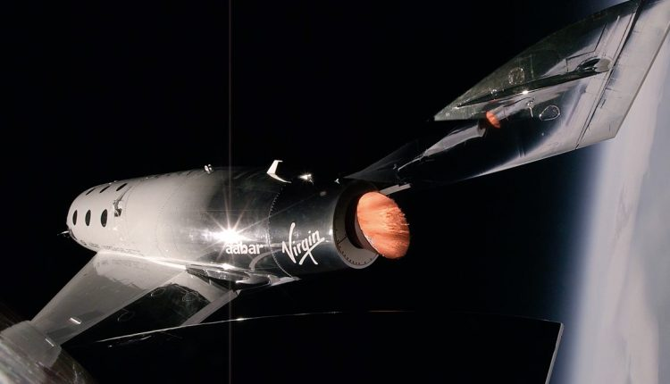 Virgin Galactic's passenger spaceship completes its third hypersonic test flight | Innovation