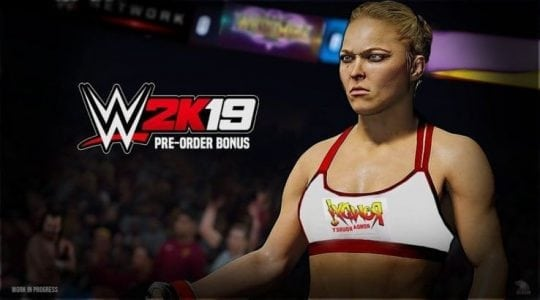 WWE 2K19 Adding Ronda Rousey as Pre-Order Bonus | Gaming
