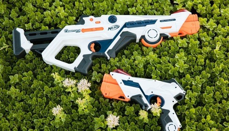 Exclusive first look: Nerf's AR-Powered Laser Ops Pro blasters | Future Tech