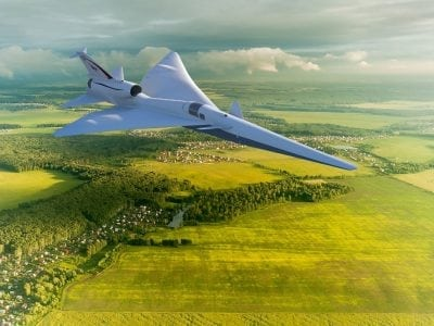 Why a Fighter Jet Is Testing 'Quiet' Supersonic Booms Over Texas for NASA | Innovation Tech