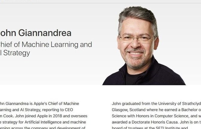 Google's long-time AI boss is now in charge of Apple Siri | Apps & Software