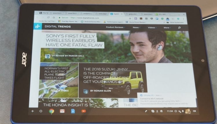 You can use Chrome OS on a tablet, but it's not an iPad competitor yet | Computing