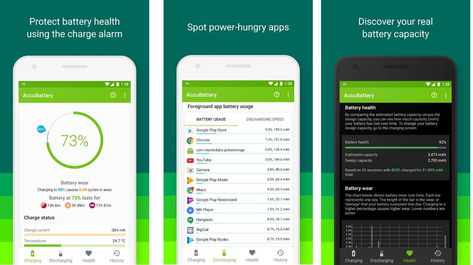 Accu Battery Best Android Battery Saver App