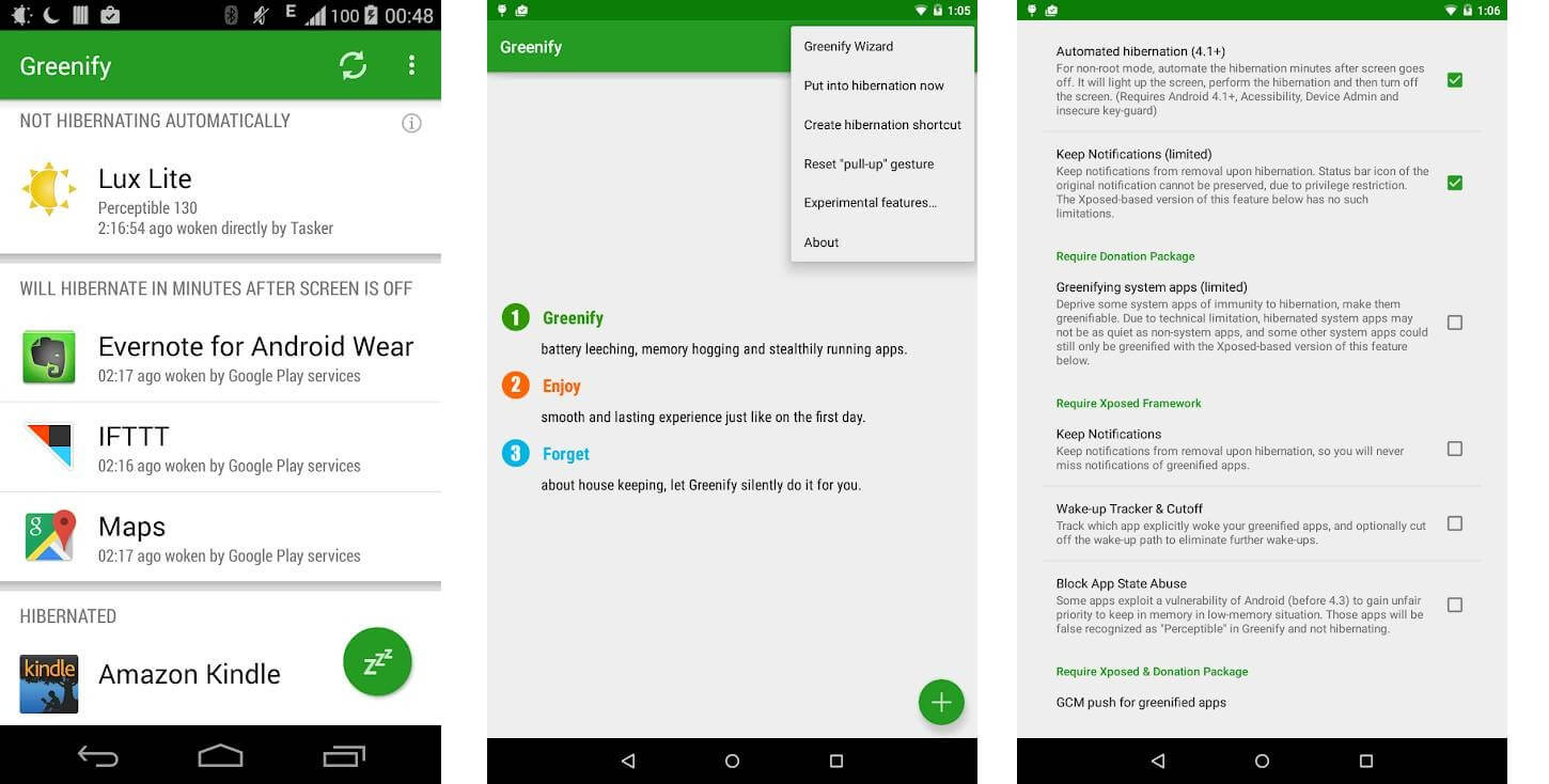 Greenify Best Android Battery Saver App