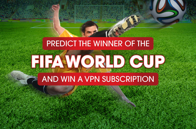 Predict the World Cup winner and win a VPN subscription