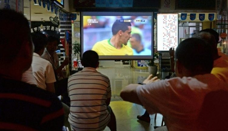 All of a flutter: Chinese bet big on World Cup   Computing
