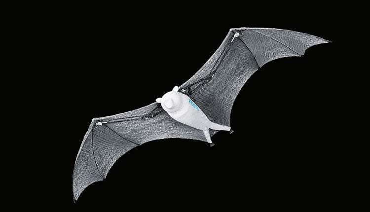 Festo showcases bio-inspired robots including rolling spider and flying 'fox' which actually looks more like a bat | Robotics