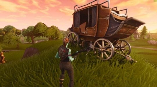 Fortnite Rift Adds Carriage Into the Game | Gaming