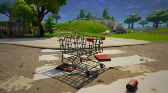 Fortnite Player Pulls Off Absurd Trick Shot with Shopping Cart | Gaming News