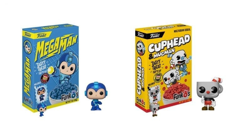 Funko is serving up Mega Man and Cuphead cereals   Gaming