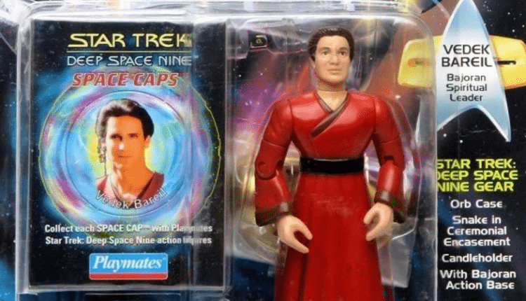 This Might Actually Be The Most Weirdly Boring Star Trek'Action' Figure Ever Made   Gaming