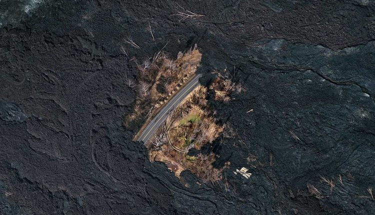 The tiny oasis spared wrath of Hawaii's volcano   Innovation Tech