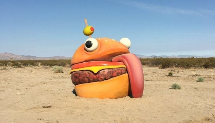 Fortnite Burger Disappears From Map, Reappears In Real-Life Desert | Gaming