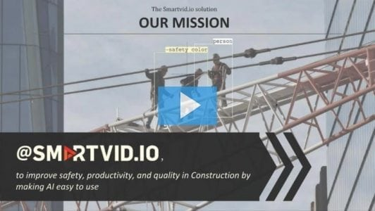 How Smartvid.io Uses AI and Machine Learning to Reduce Risk on Construction Projects | Innovation