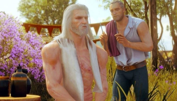 This Witcher 3 Hair Mod Gives Geralt Back His Luscious 60fps Locks   Gaming