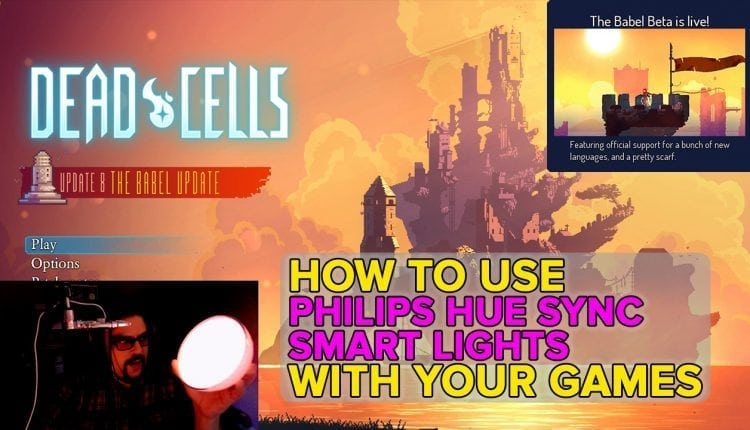 Syncing games with Philips Hue smart lights gives your home that ol' arcade glow | Gaming