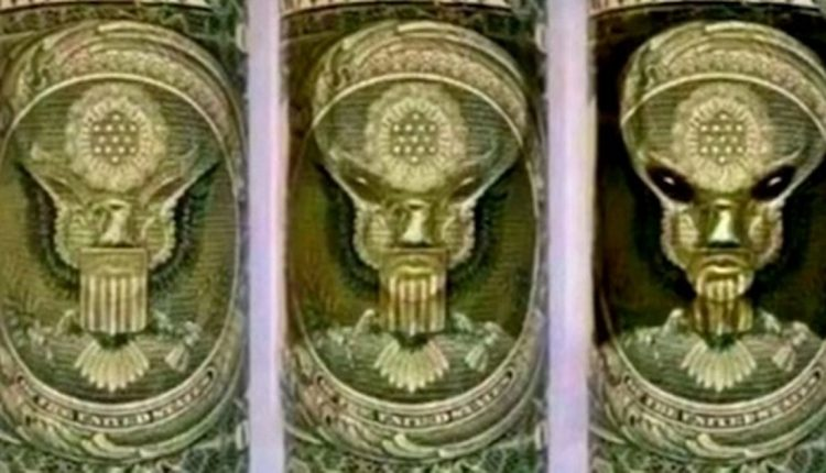 Conspiracy theorist claims 'alien overlord' has control of the US economy after spotting a mysterious symbol on a dollar bill | Top Stories