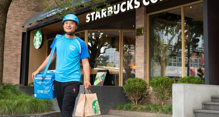 Starbucks partners with Alibaba on coffee delivery to boost China business | Apps & Software
