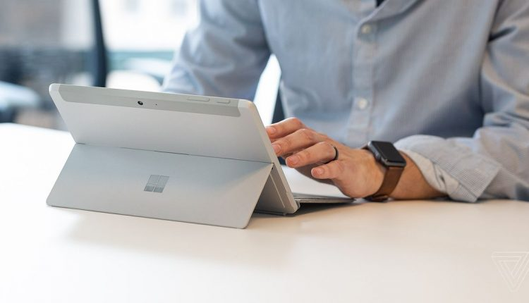 The tiny Microsoft Surface Go is available now, and it's an overachiever | Tech Industry