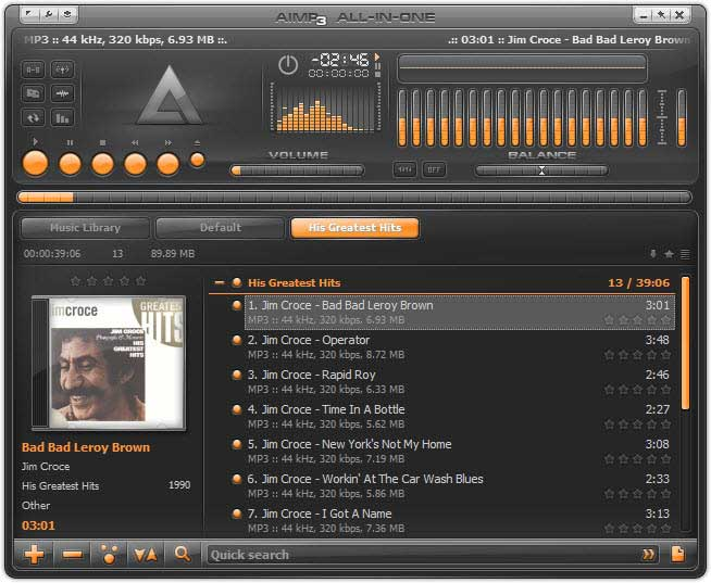 best-music-player-for-windows-aimp