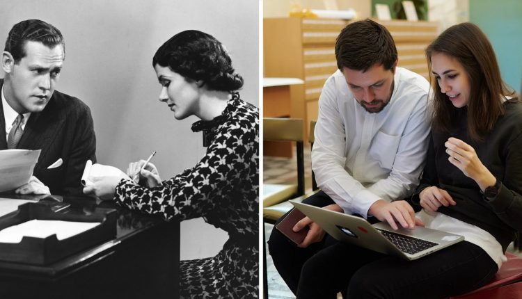 THEN AND NOW: The progression of work fashion from the 1950s to today | Tech Fashion