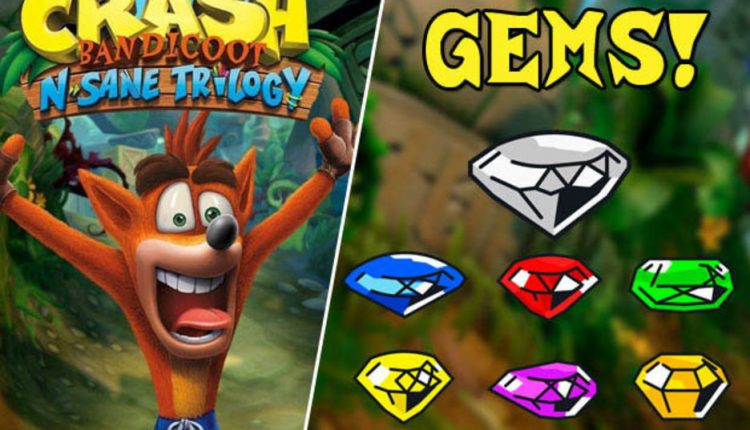 Crash Bandicoot Gems: How to get ALL coloured gems on PS4, Xbox and Switch | Gaming