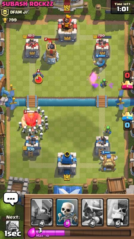 Best free iPhone games: Clash Royale