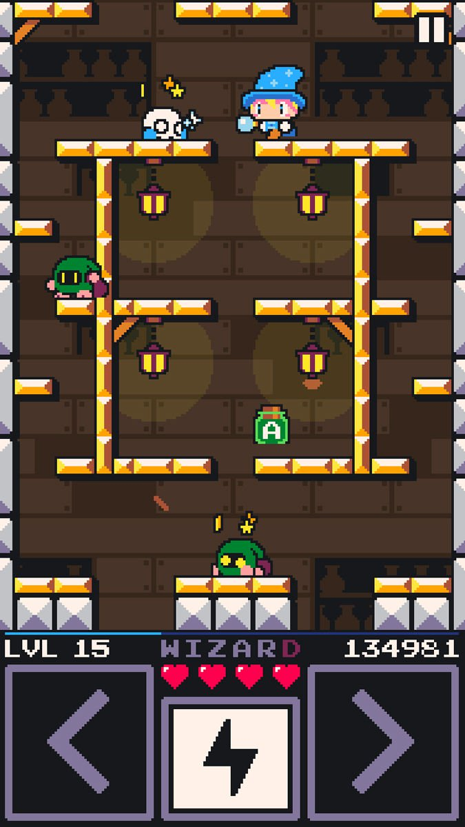 Best free iPhone games: Drop Wizard Tower