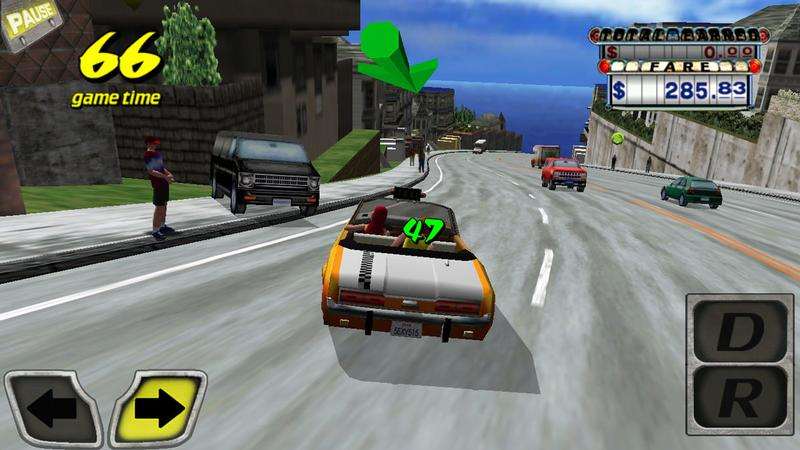 Best free iPhone games: Crazy Taxi