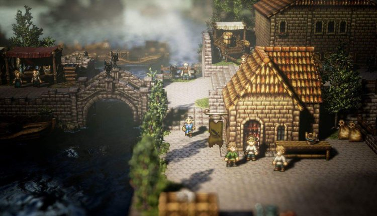 Nintendo Switch Exclusive Octopath Traveler Ships 1 Million Units Worldwide | Gaming