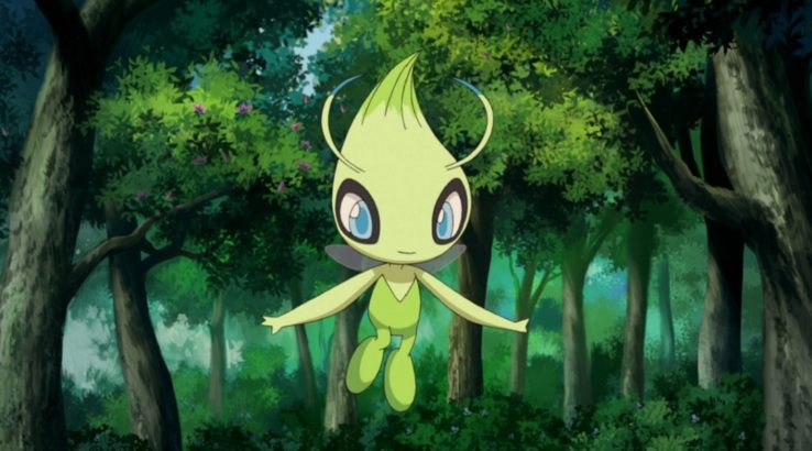 celebi pokemon anime