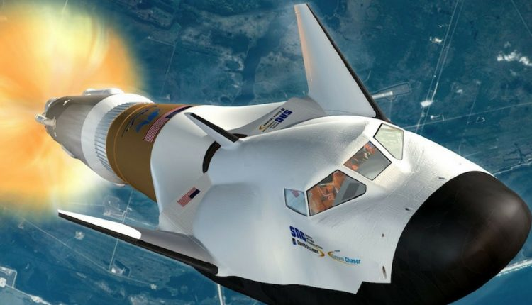 Stunning new craft will one day launch astronauts & space tourists